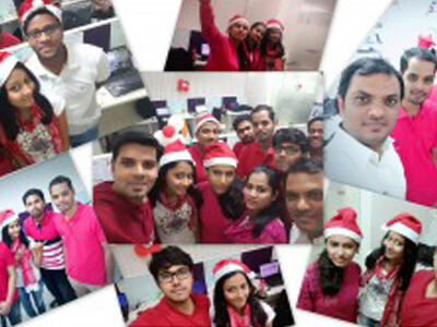 Christmas celebration moments