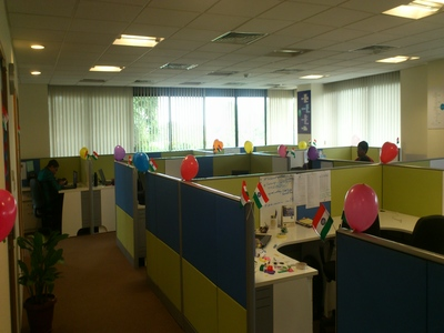 Qualitrix office space decoration