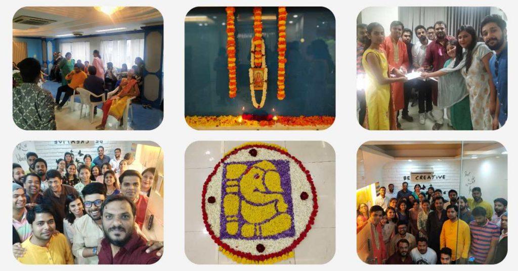 Ganesh Chaturthi Celebration at Qualitrix