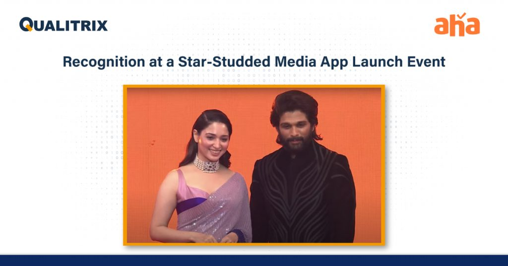 Qualitrix QA Team Receives Recognition at a Star-Studded Media App Launch Event
