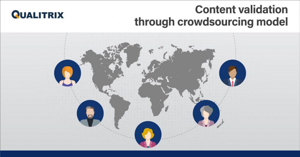Content Validation Through Crowdsourcing Model
